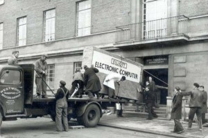 having your computer delivered in 1950